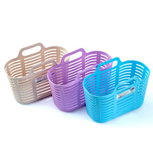 Multifunctional Plastic Shopping Basket with Handle