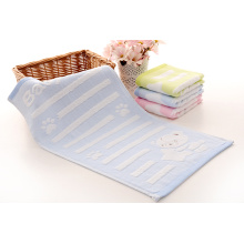 Premium 100% Kapas Terry Blue Baby Towel