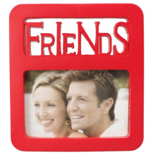 Red Beautiful Plastic Photo Frame Friends For Gifts