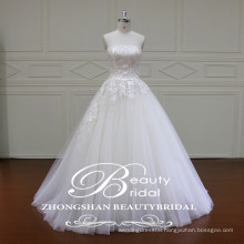 XF16030 Stylish new bridal dresses straight across cheap ball gown bridal wedding gown
