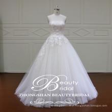 XF16030 Elegantes vestidos de noiva novos em frente ao vestido de noiva barato vestido de noiva