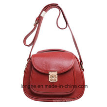 Front-Pocket with Floriated Lock Message Bag (LY0104)