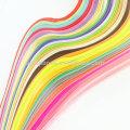 Handmade 48 kits de folhos cores Quilling papel