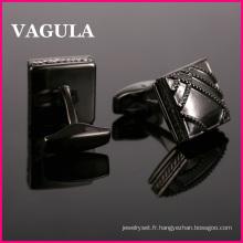 VAGULA émail chemise boutons de manchette (L51503)