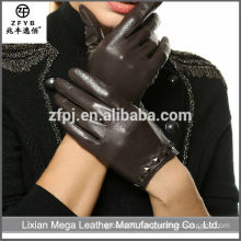Wholesale Low Price High Quality Packet Finger leather Gloves