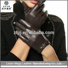 Atacado de baixo preço de alta qualidade Packet Finger luvas de couro