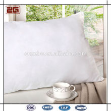New Designed Wholesale White 100Polyester Hollow Fiber Pillows for Five Star Hotel