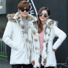 New Couple Down Jacket MID-Length Thick Winter Jacket
