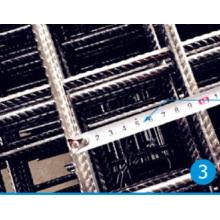 Concreto de refuerzo de malla de alambre de fábrica