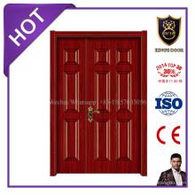 Diseños interiores de la puerta principal del laminado interior de la puerta de la melamina