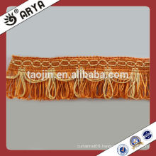 Polyester Fringe Tassel Lace Trims for Curtain