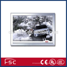 Corrugated box led acrylic and aluminum frame light box