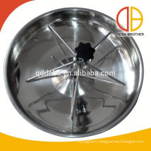 Feeder Double Pets Dog Bowl/Plastic Trough