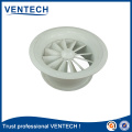 supply round swirl diffuser HVAC diffuser