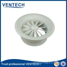 HVAC remolino difusor aluminio alta calidad