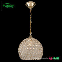 Popular Crystal Pendant Lighting Write Lamp/Lighting (D-9466/1)