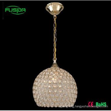 Popular Crystal Pendant Lighting Write Lamp/Lighting (D-9466/1)