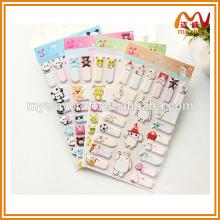 Super fofos adesivos de nome de desenho animado, adesivos personalizados, miúdos bonitos adesivos inchados