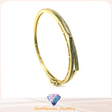Wholesale 2015 Fashion Gold and Silver Hip Hop Bangles Upper Arm Bracelet for Lady G41251