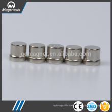 Custom wholesale hot sale strong cylinder ndfeb mono pole magnet