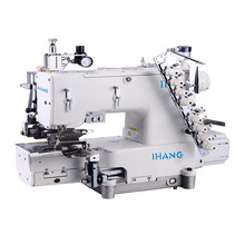 Manual Manual Skip Stitch Auto Curve Waistband Machine