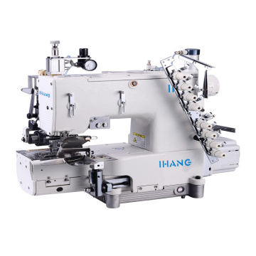 Manual Type Skip Stitch Auto Curve Waistband Machine