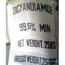Polvo de cristal blanco de diciandiamida 99,5% de alta pureza