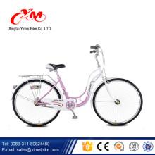 Alibaba nuevo diseño 26 pulgadas de bicicleta urbana / Mujeres ciudad bicicleta / bicicleta de adultos baratos