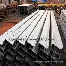 Produits en acier au carbone en acier inoxydable Canal U / Z Q195 Q235B