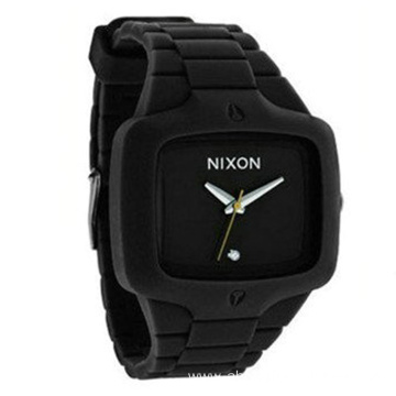 Sports Silicone Wrist Watch Square Colorful