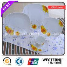 Precio de fábrica 18 PCS Porcelain Dinnerset