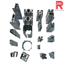 6063 Janela da liga / porta Perfis de alumínio / alumínio para o Furniture