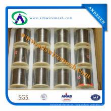 AISI304 alambre de acero inoxidable (0,18 mm a 5,5 mm de precio de fábrica)