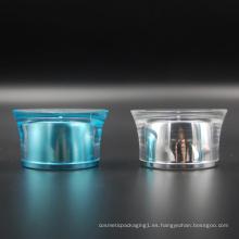 Tapa de rosca acrílica plástica para el diámetro del tubo 50m m