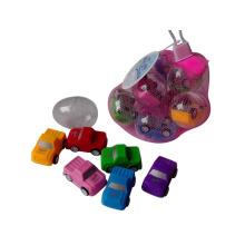 Günstigen Preis Kunststoff Spielzeug von Pull zurück Auto für Kinder