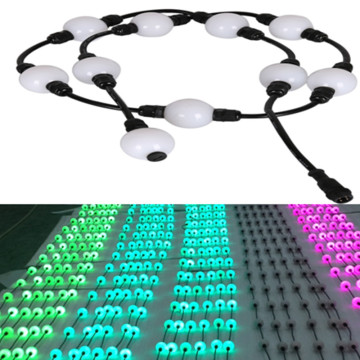 Rgb 3D Pixel Ball String