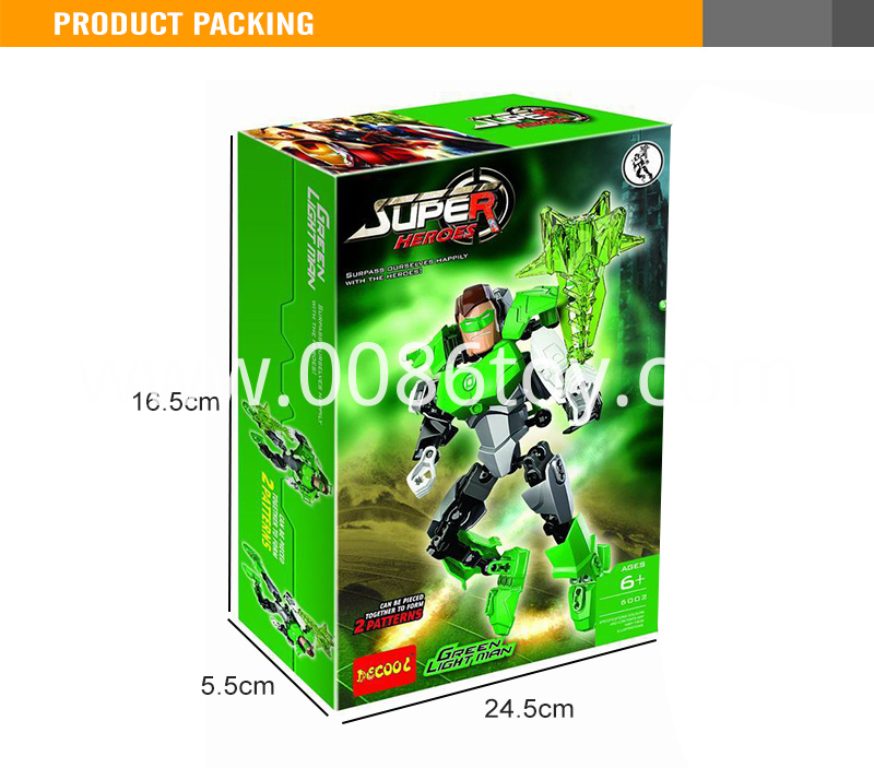 kids bricks intellect plastic figure toy