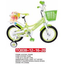 """12 """"a chegada a mais nova da bicicleta do bebê das crianças Bike / Green Color"""