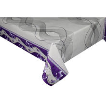 dazzle Transfer Printing Tablecloth with Silver/Gold