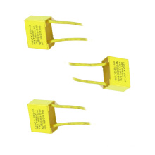 2016 Topmay Low Loss Yellow 0.22UF 275VAC X2 Metallized Polypropylene Film Capacitor Tmcf18
