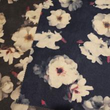 Печать замшевых тканей для одежды