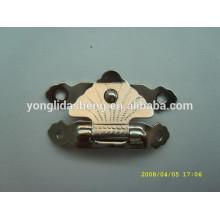 Cerradura excelente de encargo del bolso del clip del metal de la plata de la calidad
