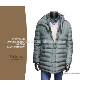 2017 Men Jacket Winter Light Weight Warm Parka Professional Factory Supplier Shaoxing