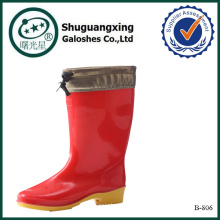 stylish safety boots rain boots socksB-803