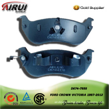 Semi-metallic brake pad for FORD CROWN VICTORIA 1997-2012