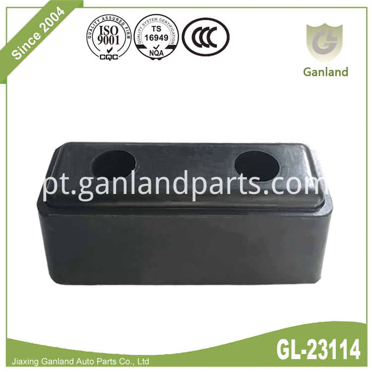 Black Solid Rubber Buffer GL-23114