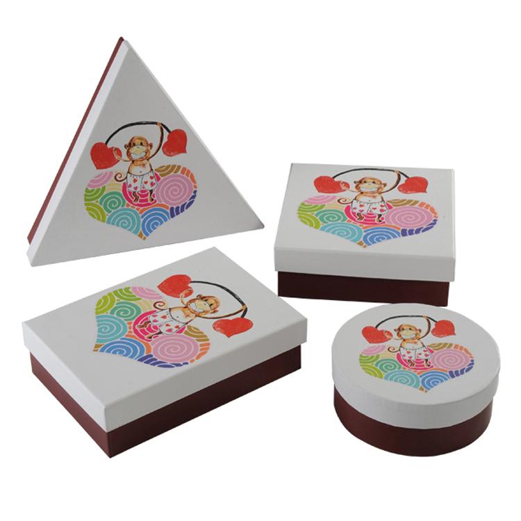 White Custom Logo Paper Packaging Box For Children