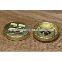 Botón metálico de presión de oro, botón magnético para la ropa