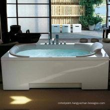 Five Star Hotel Favorite Whirlpool Acrylic Massage Bathtub