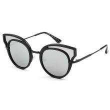 2018 кошачий глаз зеркало солнцезащитные очки женщины мода новые солнцезащитные очки